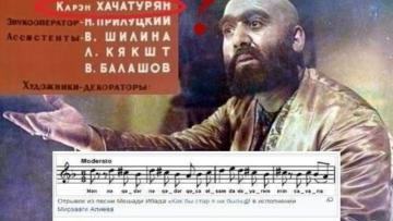 Ermənilərin həyasız milli oğurluğu Moskvada – VİDEO