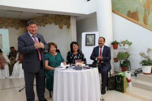 """""""Qırmızı şaman"""" əsərinin Yakutskda təqdimatı olub"""