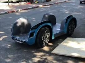 İNANILMAZ! İsrail alimləri qeyri-adi avtomobil hazırladılar – Video