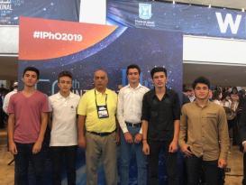 Azərbaycanlı şagird İsraildə keçirilən Beynəlxalq Fizika Olimpiadasında bürünc medal qazandı