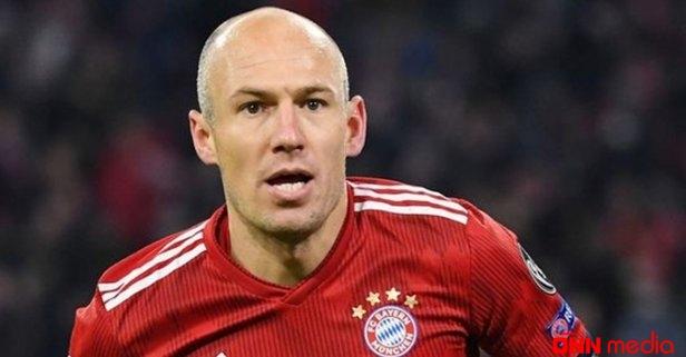Futbolçu Aryen Robben karyerasını başa vurdu