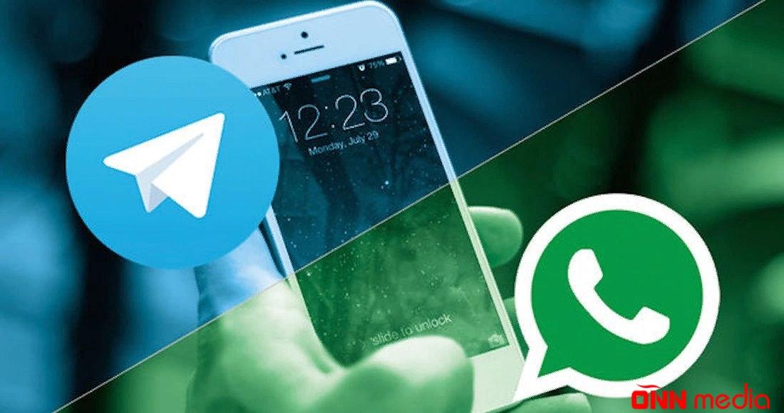"""""""Telegram"""" və """"WhatsApp"""" istifadəçiləri – DİQQƏTLİ OLUN"""