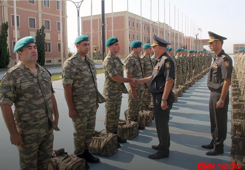 Azərbaycan sülhməramlıları Əfqanıstana yola salınıb