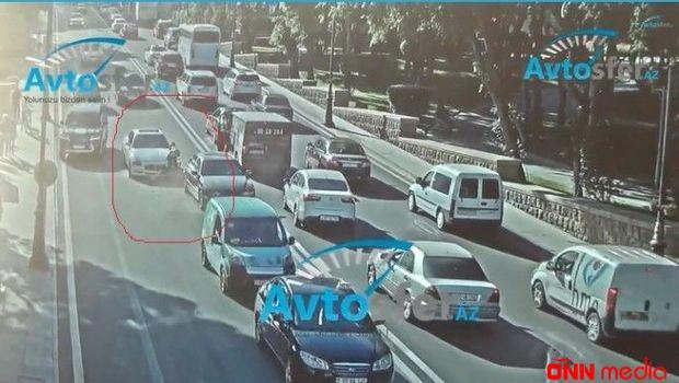Sürücü səhlənkarlığı: ara məsafəsi saxlamamağın aqibəti – VİDEO