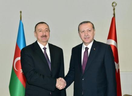 Ərdoğan Prezident İlham Əliyevə telefonla zəng edib
