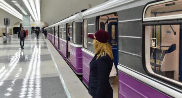Bakı metrosunda biabırçılıq – Video
