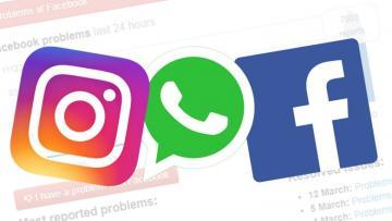 """""""Facebook"""", """"Whatsapp"""" və """"Instagram"""" çökdü"""
