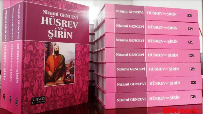 """""""Xosrov və Şirin"""" poeması Türkiyədə nəşr olundu"""