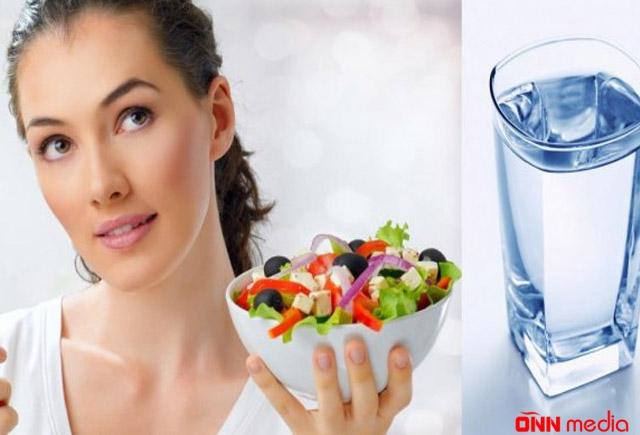 Yemək yeyəndə su içmək olarmı?