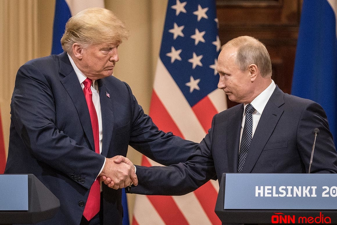 Tramp Putinə zəng etdi
