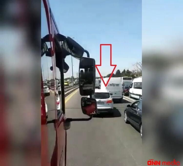Bakıda: Sürücülərimizdən nümunəvi addım! – VİDEO
