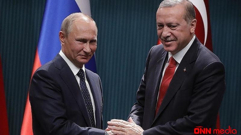 Ərdoğan Rusiyaya gedir