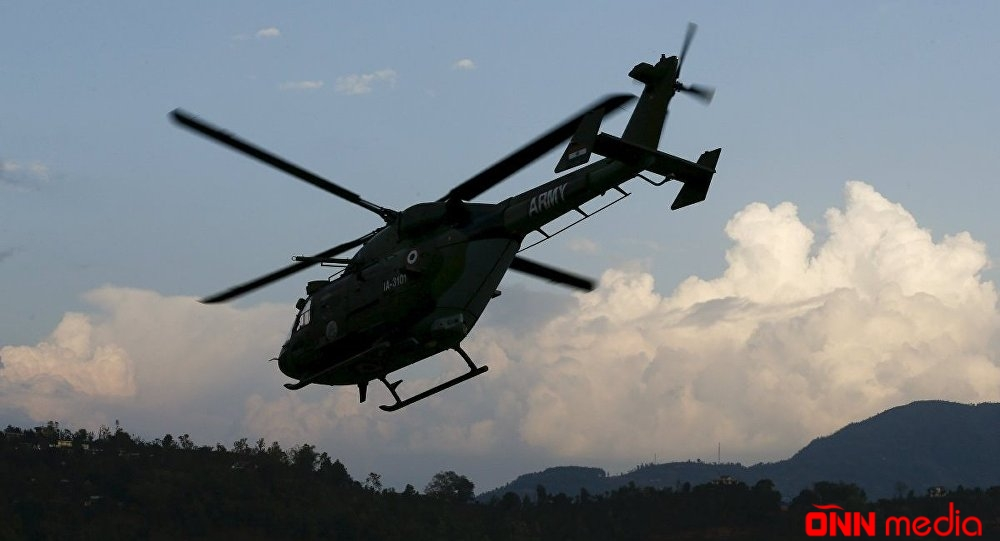 Rusiyada helikopter sərt eniş etdi: yaralılar var