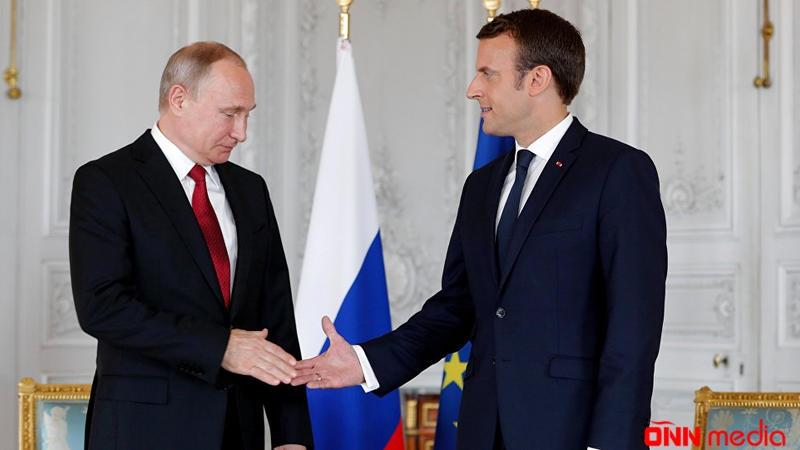 Putin və Makron Qarabağı müzakirə etdi