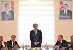 Nazir yeni rektoru kollektivə təqdim etdi