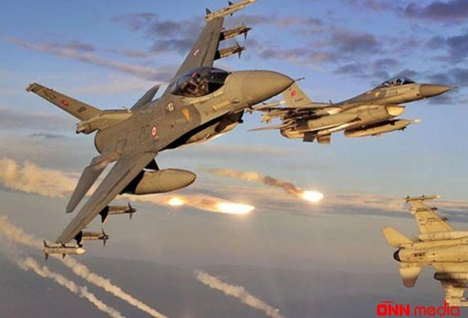 Türkiyə qırıcıları İraqda terrorçuları bombaladı