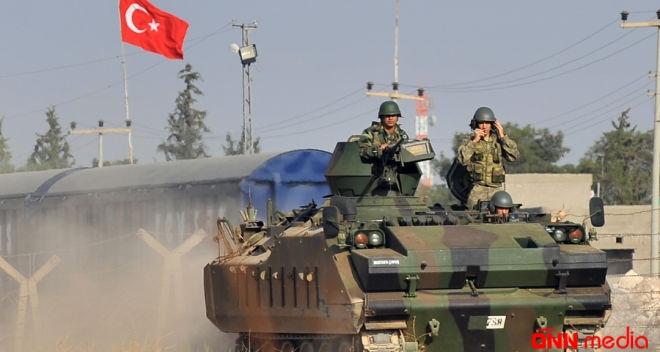 Türkiyə hərbi texnikası Sarakib şəhərinə girdi