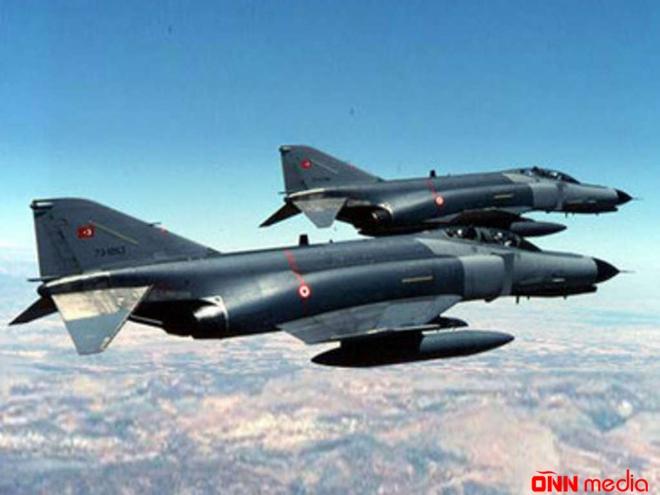 Türkiyədən PKK- ya hava hücumu