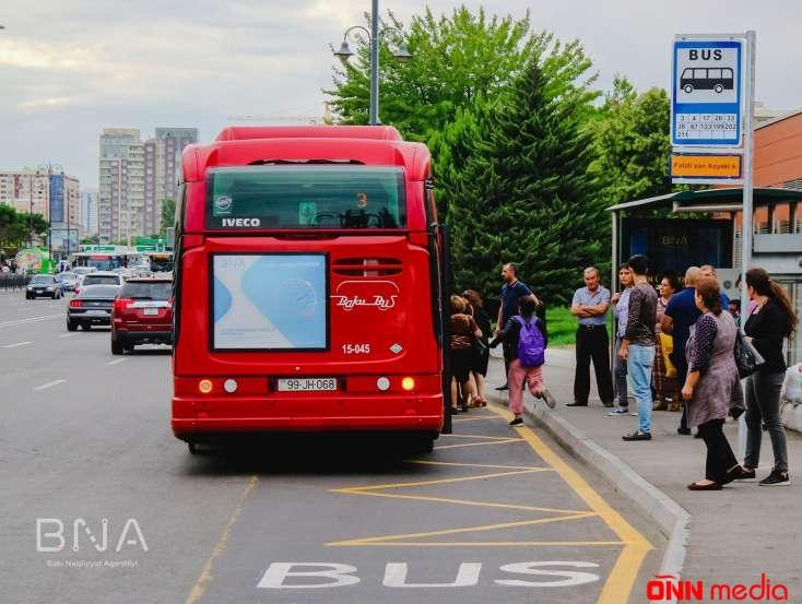 Bakıda avtobus dayanacağının yeri dəyişdirildi – NİYƏ?