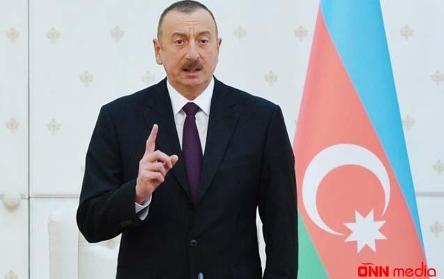 Prezident İlham Əliyevin iclas iştirakçılarına müraciəti