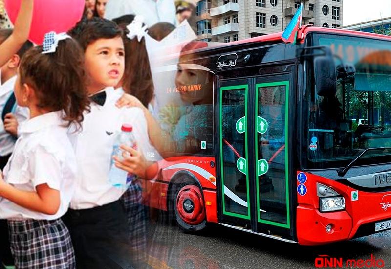 Məktəbli uşaqlar avtobusa pul verməsin – Deputatdan Təklif