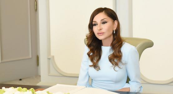 Mehriban Əliyevadan qaziyə dəstək