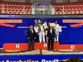 Azərbaycan karateçisi ermənini məğlub edərək qızıl medal qazandı