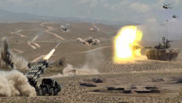 Azərbaycan Ordusunun geniş miqyaslı təlimləri keçirilir