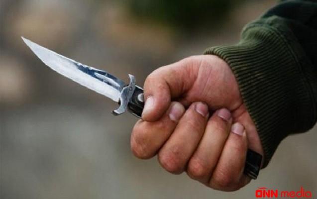 Gəncədə qıza görə bıçaqlanma