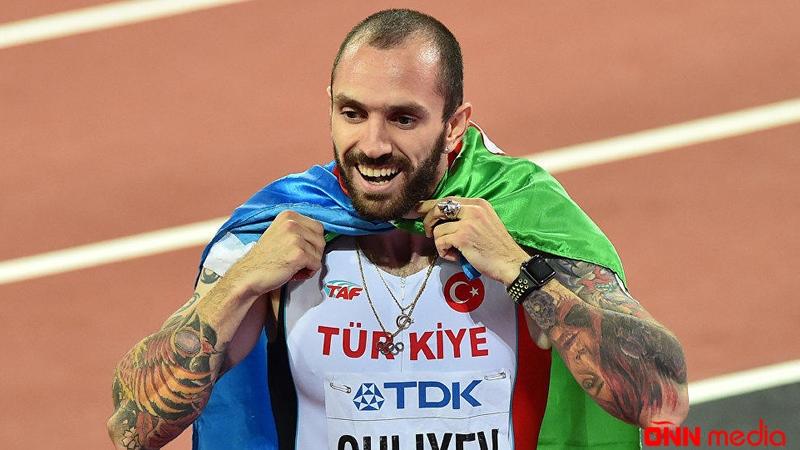Ramil Quliyev birinci oldu