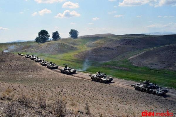 Ordumuz döyüş atışlarının icrasına başladı – Video