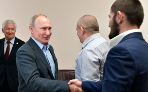 Putin Həbiblə görüşdü