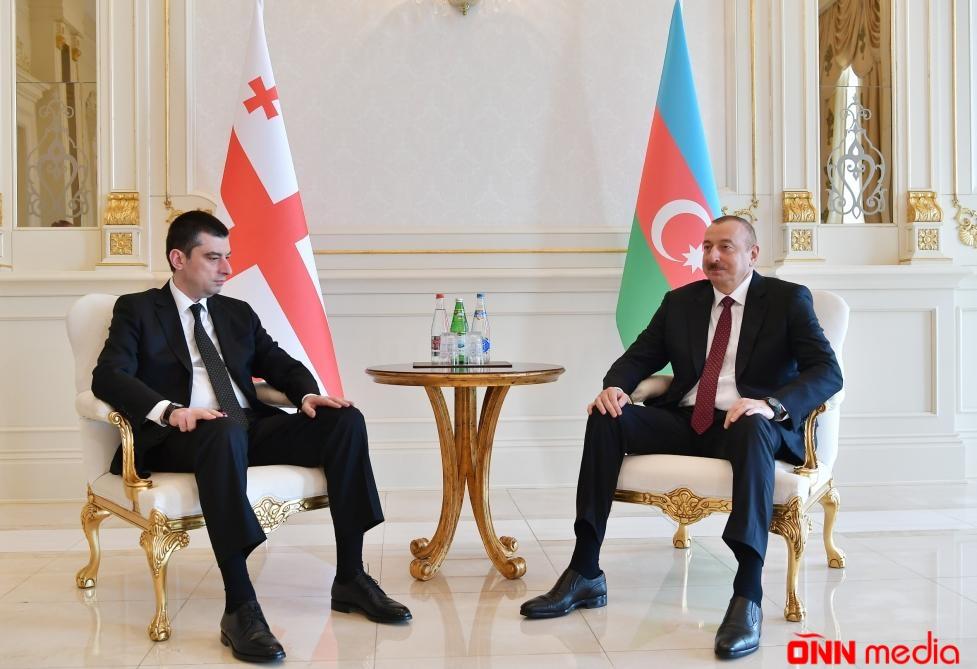 İlham Əliyev Baş Naziri qəbul etdi