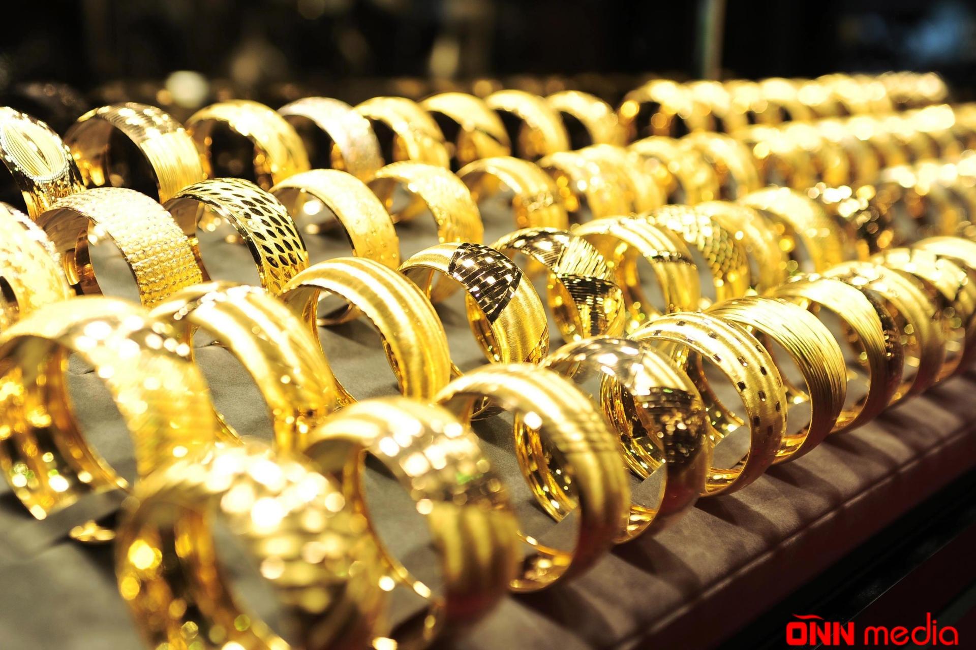 Azərbaycanda qızıl-gümüş bahalaşdı