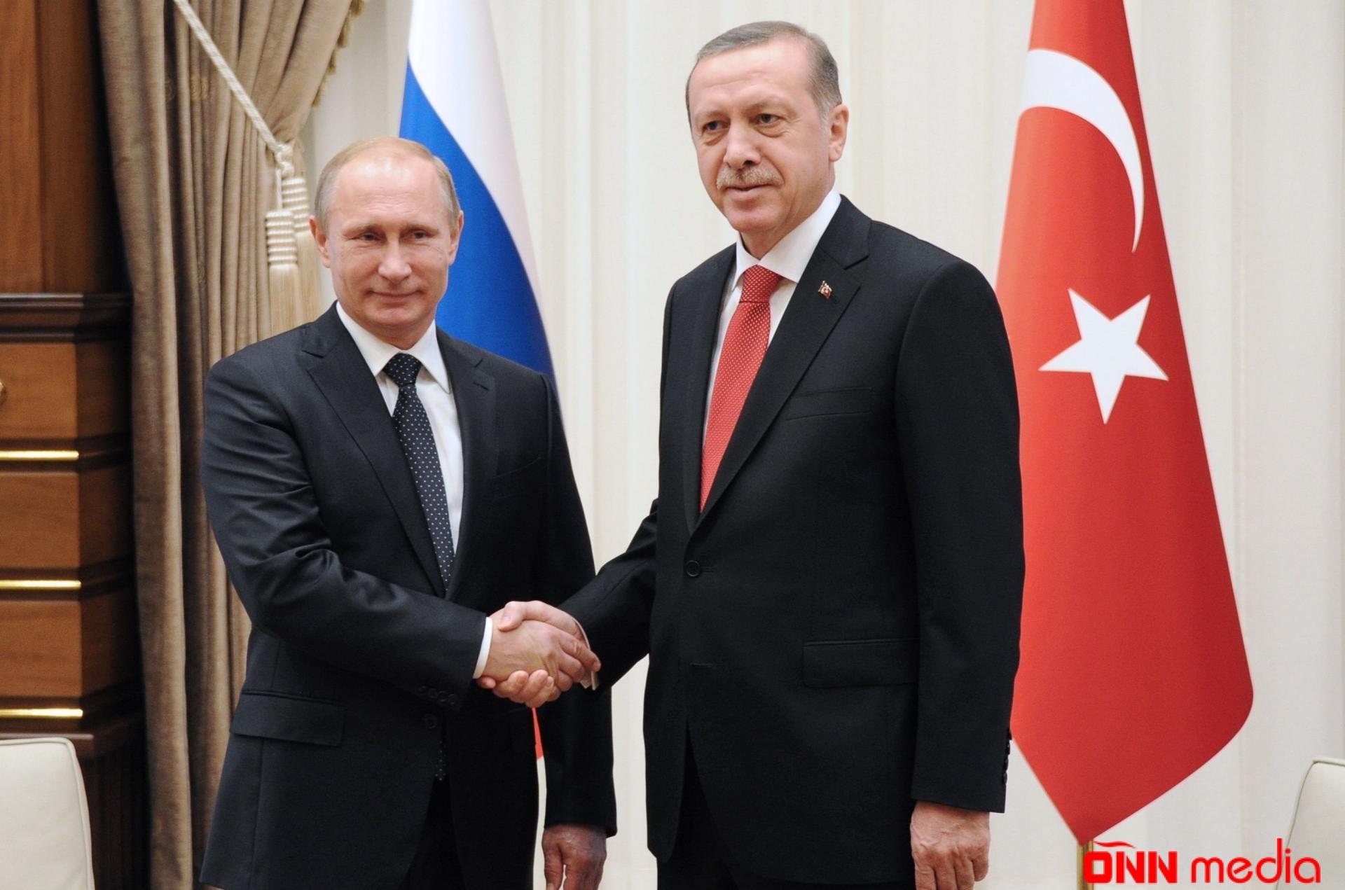 Putin və Ərdoğan telefonla hansı məsələləri müzakirə ediblər?