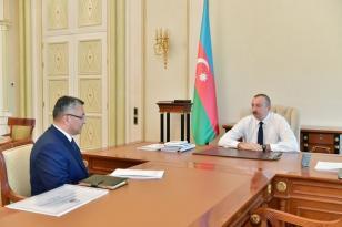Prezident Rövşən Rzayevi qəbul etdi