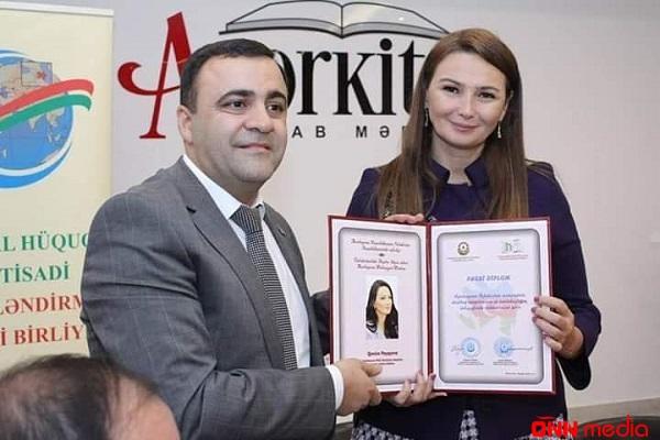 Qənirə Paşayevaya fəxri diplom verildi