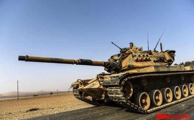Türkiyə tankları Suriya sərhədinə yığılır – Müharibə başlayır? Video