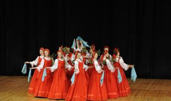 Rusiya folklor kollektivlərinin konsert proqramı maraqla qarşılanıb
