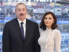 Prezident və xanımı mühüm sammitdə