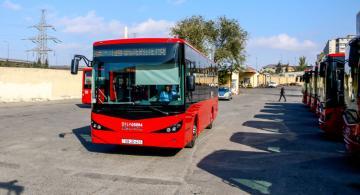 Bu marşrut xəttinə yeni avtobuslar verilir