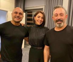Cem Yılmaz azərbaycanlı məşhurlarla bir arada – FOTO