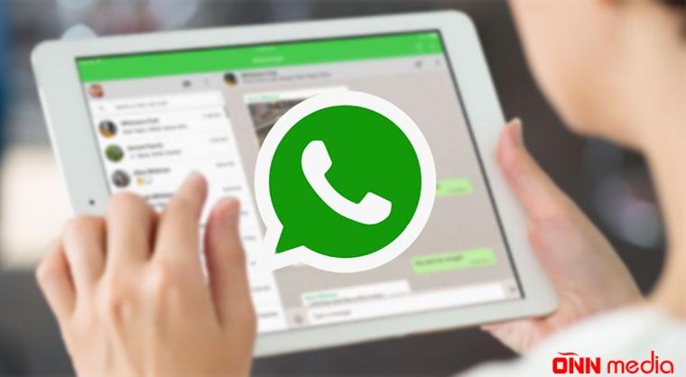 Whatsapp-dan YENİLİK