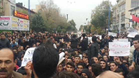 İranda etirazlar davam edir: helikopterdən atəş açıldı