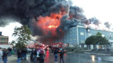 İstanbulda dəhşətli yanğın: 2 ölü, 4 yaralı