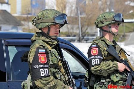 Rus hərbçiləri ABŞ bazasını nəzarətə götürdü