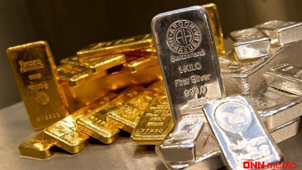 Azərbaycanda qızıl və gümüş ucuzlaşdı