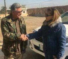Azərbaycanlı xanım jurnalist İraqda