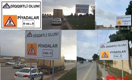 Sürücülər və piyadalar üçün MÖHTƏŞƏM YENİLİK