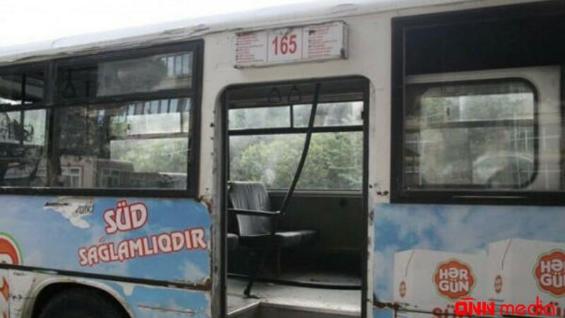 Bakıda marşrut avtobusu dəhşətli qəza törətdi: ÖLƏN VAR